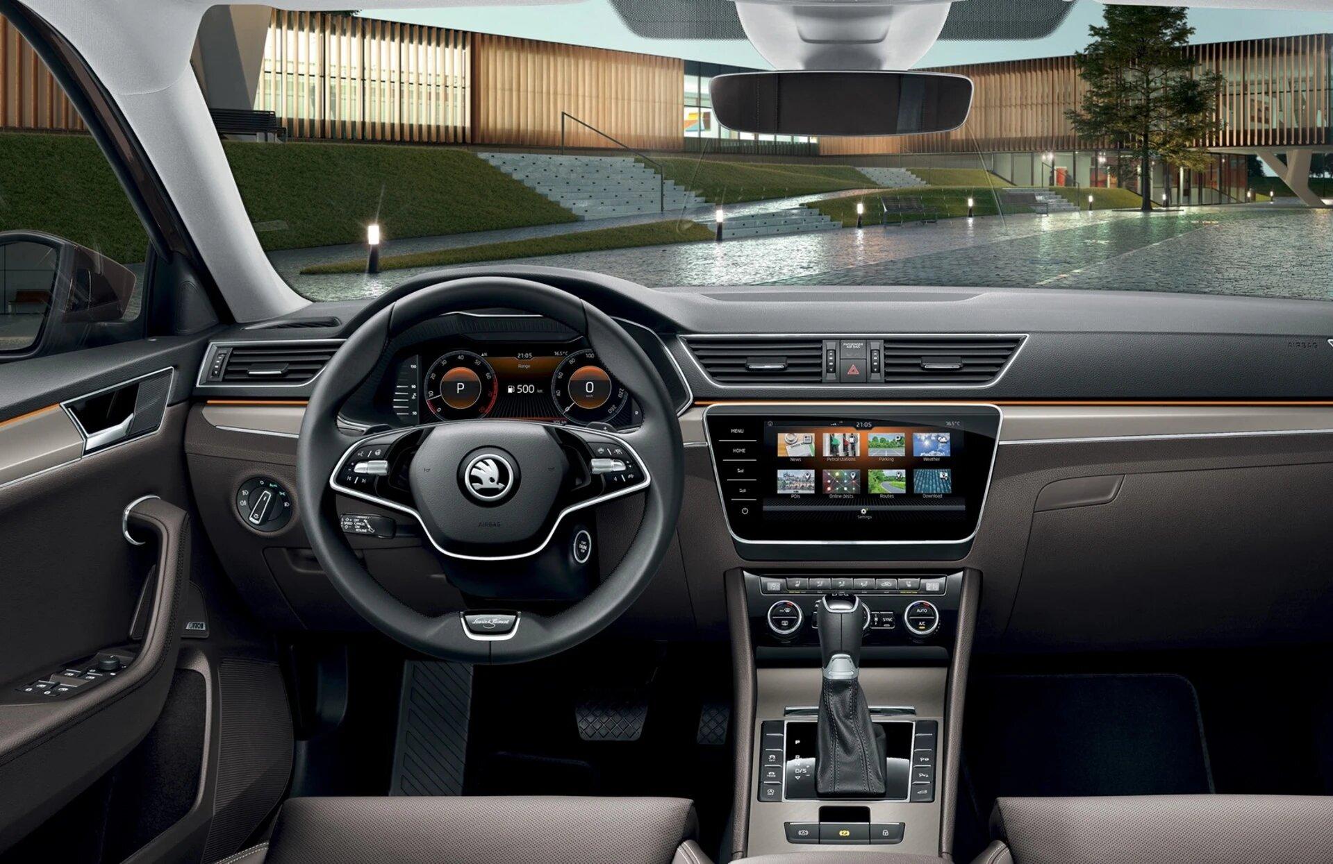 interior-skoda-superb-combi-l&k-2020