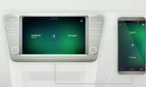 ŠKODA Smartlink+, conecta tu smartphone a tu vehículo