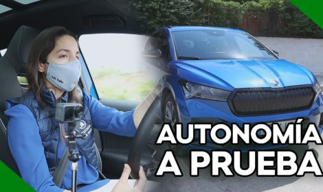 ŠKODA ENYAQ iV 80: prueba de autonomía en carretera